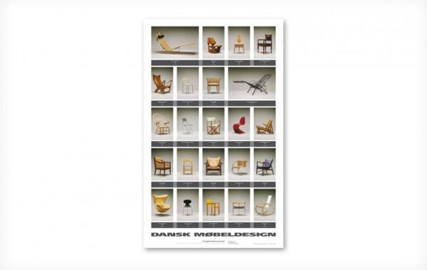 Plakat: Dansk møbeldesign