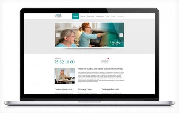 Website: Tandklinkken Vejle